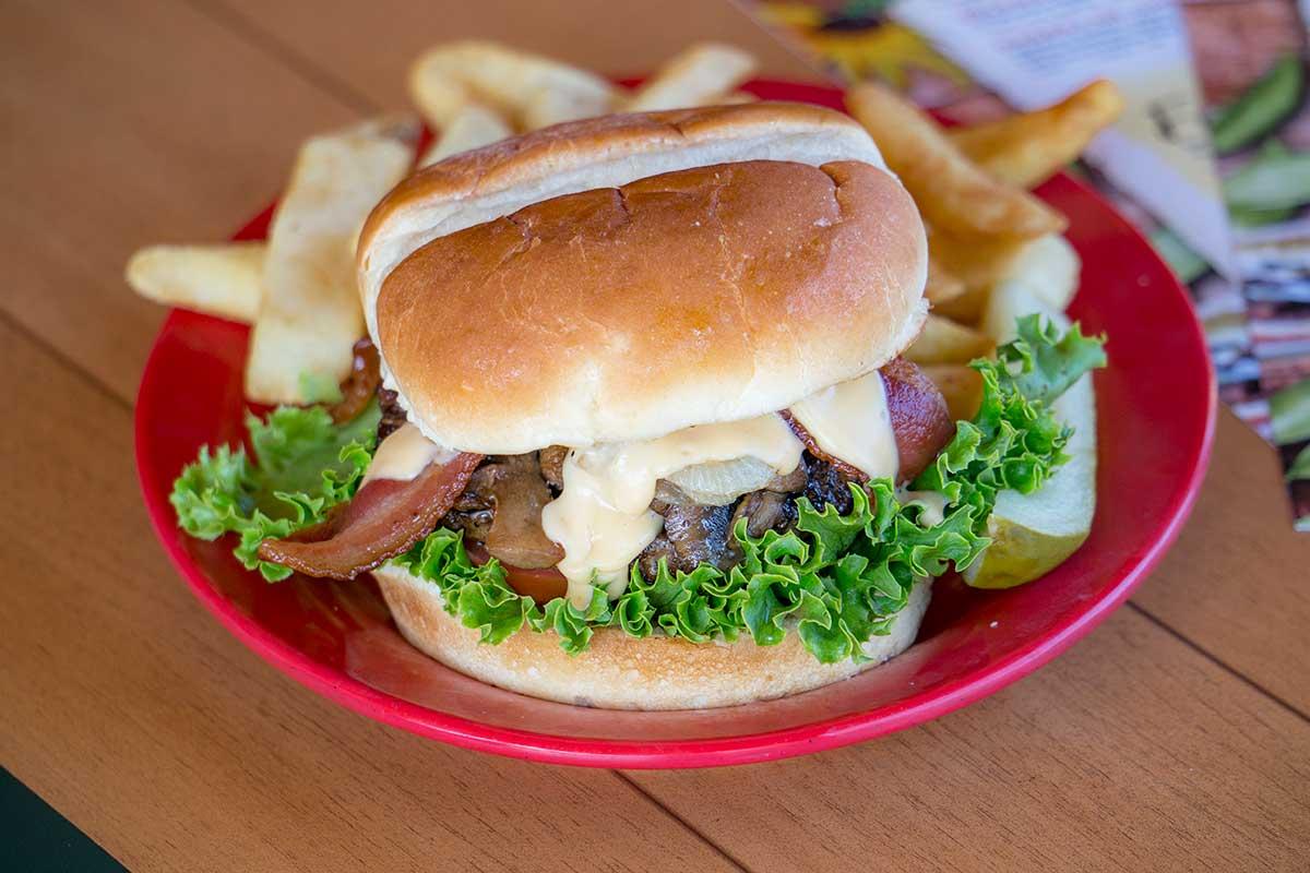 Garden Pub & Grille Burgers